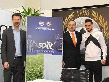 """Con """"Dacia Sponsor Day – The Split"""" il calcio si fa in due per condividere la sua popolarità con gli altri sport"""