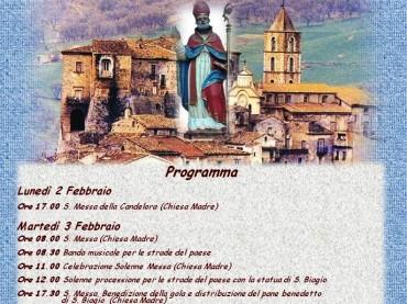 Cancellara: San Biagio e Sagra della Salsiccia a Catena