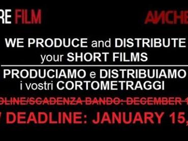 Nuova scadenza concorso Shorts for Feature