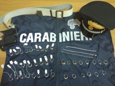 Maxi furto di gioielli per 100mila euro: i Carabinieri ritrovano tutto e denunciano 3 soggetti