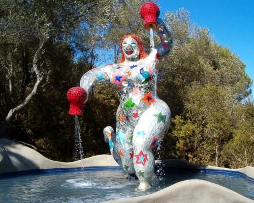Il giardino dei tarocchi tra arte e simbolismo magico - Arte e giardino ...