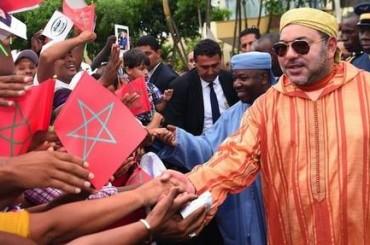 Il Re Mohammed VI chiede al presidente dell'Unione Africana di intervenire per distribuire la richiesta marocchina d'adesione all'UA.
