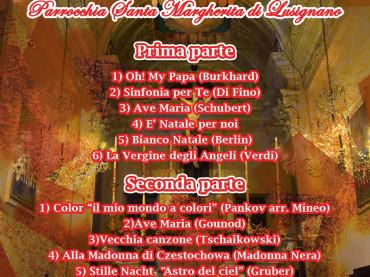 Domani ad Albenga un concerto in memoria di De Velo