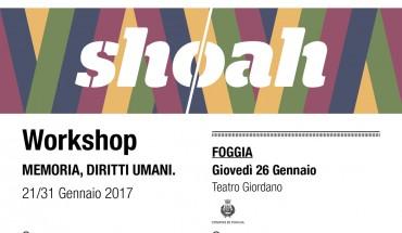 invito FOGGIA 26 Gen shoah 2017