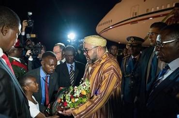 Dopo Ghana, continua il nuovo tour africano 2017 del Re Mohammed VI in Zambia