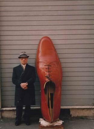 Donato e la sua scarpa da Guinness