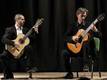 Duo chitarristico Salerno – Cappelani  in concerto sala Fallara di Gioia Tauro
