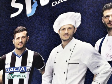 """I giocatori dell'Udinese sostituiscono sul posto di lavoro i vincitori di """"Dacia the Swap"""""""