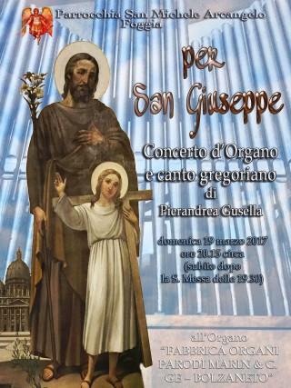 Concreto organo chiesa san Michele FG19032017 Locandina