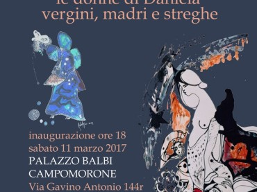 """"""" Chi Dice Donna Dice…."""" Le donne di Daniela Kalepyros –  Palazzo Balbi Comune di Campomorone"""