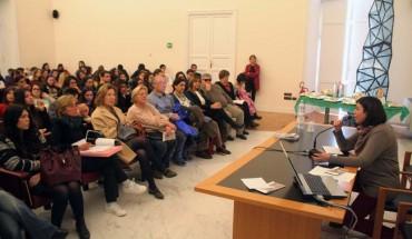 LA SOPRINTENDENTE CASULE durante il seminario dedicato alla Giornata del Paesaggio