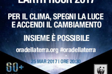 """""""Earth Hour – l'Ora della Terra"""", anche il WWF di Foggia aderisce all'iniziativa"""