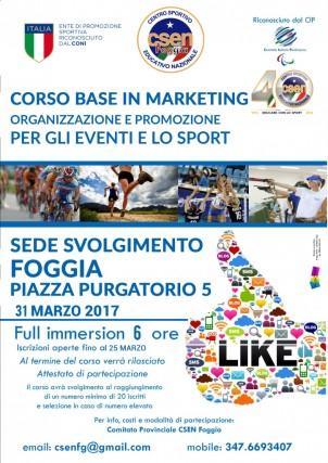 csen corso in Marketing per gli eventi e lo sport