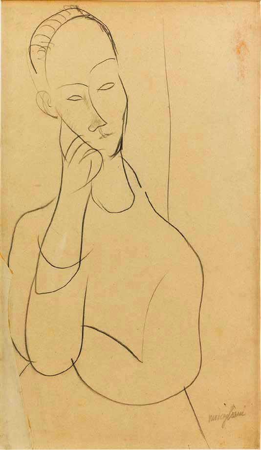 Modigliani ritratto di Lunia Czechowska nel 1919
