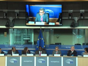 """Parlamento Europeo: Mariani ex ostaggio AQMI in Algeria """"Il mondo ha fatto poco per sradicare il terrorismo"""""""