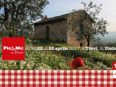 Pic&Nic a Trevi, in Umbria, dal 22 al 25 Aprile. La 10a edizione con un picnic di notte