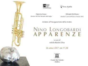 """""""Apparenze"""", a Castel del Monte la mostra di Nino Longobardi  presentata da Achille Bonito Oliva"""