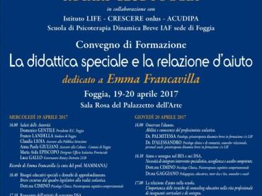 Foggia, un corso del Rotary Club sulla didattica speciale e la relazione d'aiuto