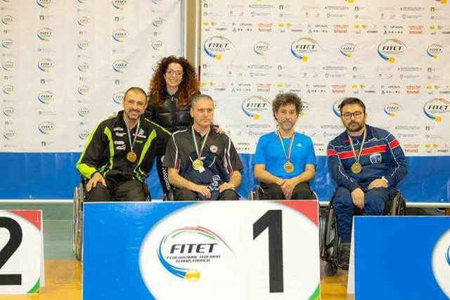 Tennistavolo Paralimpico, Foggia con la ASD Siani ai Campionati Nazionali