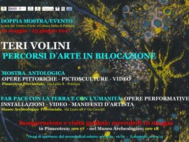"""""""Percorsi d'arte in bilocazione"""" di Teri Volini, il 5 maggio"""