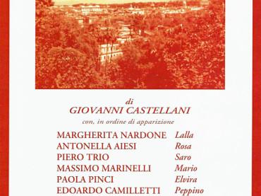"""Roma, dal 2 al 30 maggio al Teatro Arciliuto """"VENTITRE"""" di Giovanni Castellani"""