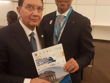 Il Direttore della BMTA incontra a Baku il Segretario Generale UNWTO, il Direttore Generale UNESCO