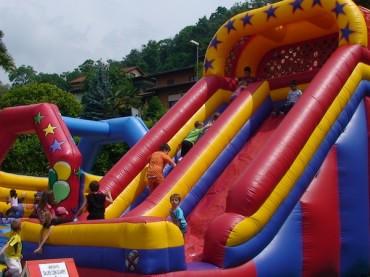 Giochi gonfiabili: il valore aggiunto dell'infanzia