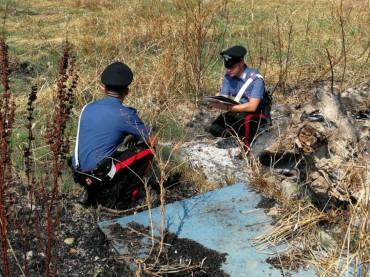 Incendi intorno la città di Crotone: i Carabinieri arrestano un piromane in flagranza.