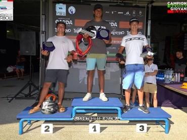 Vincitori Seconda tappa Campionato nazionale Giovanile Slalom AICW 2017