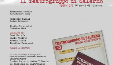 Locandina Teatrogruppo di Salerno
