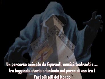 """""""I Fantasmi della Lanterna e del Mare"""" ,Venerdì 21 Luglio 2017, dalle ore 21,00 , Lanterna di Genova"""