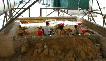 scavi a fiume santo