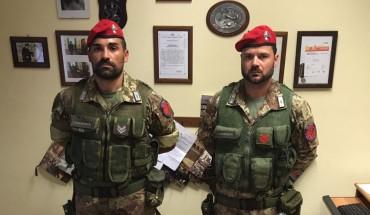 [Cacciatori Calabria e Sardegna - foto Carabinieri Foggia]