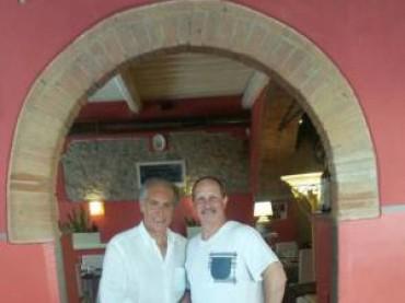 Fabio Lamborghini arriva sul confine bresciano-bergamasco