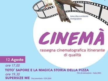 """""""Cinemà"""" – Rassegna cinematografica itinerante a San Chirico Raparo"""
