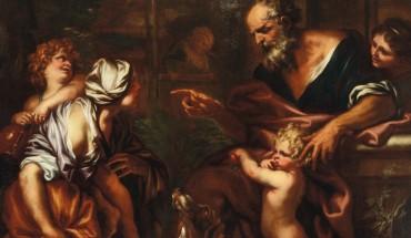 Domenico Piola_44.Abramo caccia Agar e il figlio Ismaele_low