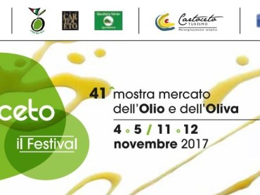 CARTOCETO DOP, IL FESTIVAL – 41^ MOSTRA MERCATO DELL'OLIO E DELL'OLIVA