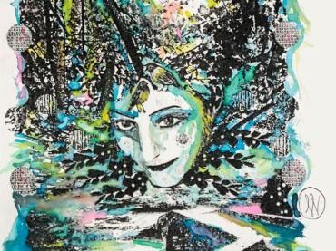 L'ex-got Talent Rossella Regina Musa ispiratrice di 4 disegni in mostra a partire da oggi in due storiche Ottiche bolognesi