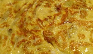 La frittata di plerotus, semplice e nutriente
