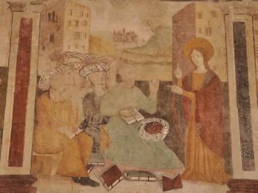 Termini Imerese Presentazione del ciclo pittorico nella medievale chiesa di S. Caterina di Alessandria