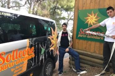 Gli animatori turistici impegnati a promuovere aziende ed infrastrutture legate all'outdoor