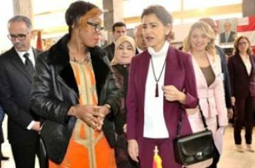 La Principessa marocchina Lalla Meryem inaugura Bazar Charity al Circolo diplomatico a Rabat