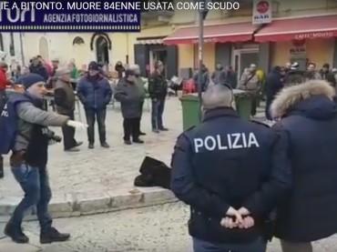 A Bitonto in strada donna usata come scudo e uccisa [VIDEO]