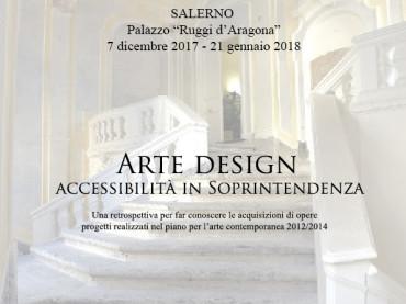 "SALERNO / ARTE & DESIGN A PALAZZO ""RUGGI D'ARAGONA"""