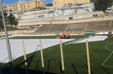 Neve nello stadio e Monte insorge. Precisazioni e rassicurazioni