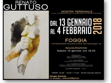 Mostra personale di Renato Guttuso a FOGGIA