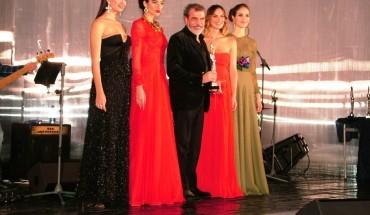 Michele MIglionico e le modelle