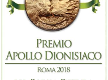 Premio Apollo dionisiaco Roma 2018