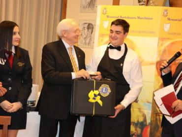 Luciano Pasquale ospite d'onore al premio il sommelir emergente A.I.S Liguria