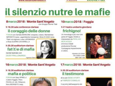 Storie di donne e mafie in Puglia. Monte Sant'Angelo racconta…